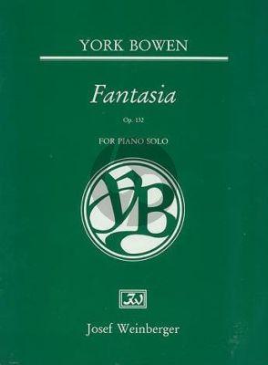 Bowen Fantasia Op. 132 Piano solo