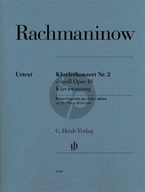 Rachmaninoff Klavierkonzert Nr. 2 c-moll op. 18 Ausgabe 2 Klaviere (Dominik Rahmer (Herausgeber) Johannes Umbreit (Klavierauszug) Marc-André Hamelin (Fingersatz)) (Henle-Urtext)