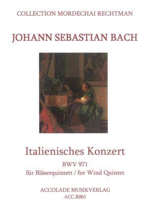 Italienisches Konzert BWV 971 Blaserquintett