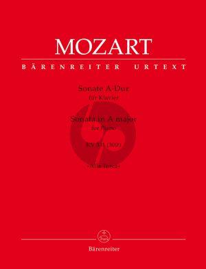 """Mozart Sonate A-dur KV 331 (300i) für Klavier (mit dem Rondo """"Alla Turca"""") (Mario Aschauer)"""