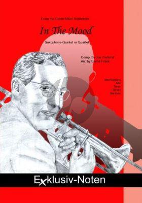 Garland In the Mood für 4-5 Saxophone (S/A-A-T-[T]-B) (Part./Stimmen) (transcr. Bernd Frank)