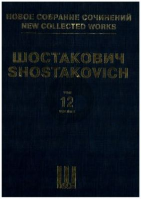 Shostakovich Symphony No.12 Op.112 Fullscore (The New Collected Works. Vol. 12)