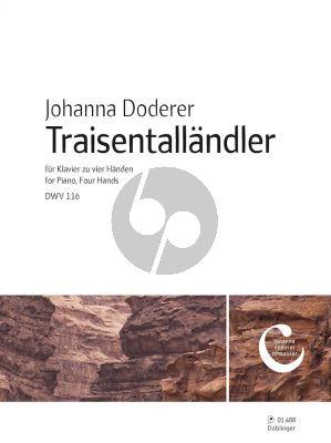 Doderer Traisentalländler DWV 116 Klavier 4 Hd.