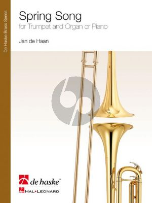 Haan Spring Song Trumpet and Piano or Organ