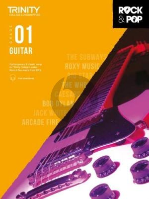 Album Trinity Rock & Pop 2018 Guitar Grade 1 Book with Audio Online