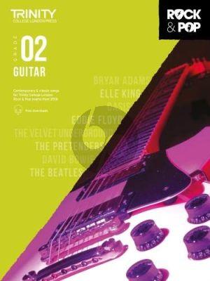 Album Trinity Rock & Pop 2018 Guitar Grade 2 Book with Audio Online