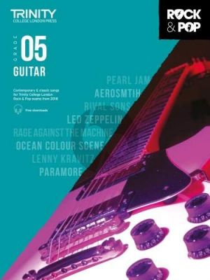 Album Trinity Rock & Pop 2018 Guitar Grade 5 Book with Audio Online