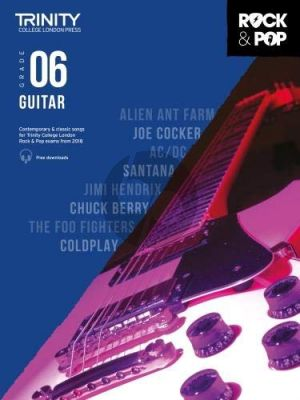 Album Trinity Rock & Pop 2018 Guitar Grade 6 Book with Audio Online