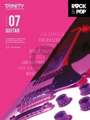 Album Trinity Rock & Pop 2018 Guitar Grade 7 Book with Audio Online