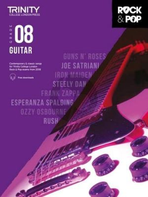 Album Trinity Rock & Pop 2018 Guitar Grade 8 Book with Audio Online