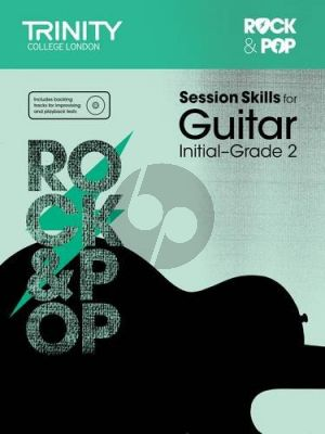 Album Rock & Pop Session Skills for Guitar, Initial–Grade 2 (Book with Cd)