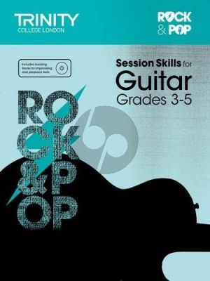 Album Rock & Pop Session Skills for Guitar, Grades 3-5 (Book with Cd)