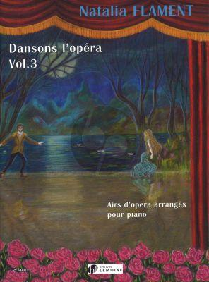 Flament Dansons l'opéra Vol.3 Piano seule