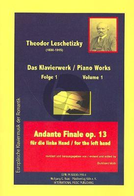Leschetizky Piano Works Vol.1