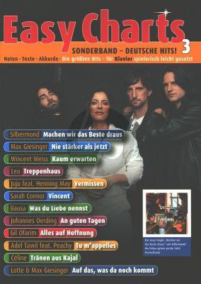 Easy Charts Sonderband: Deutsche Hits! 3 Klavier (arr. Uwe Bye)
