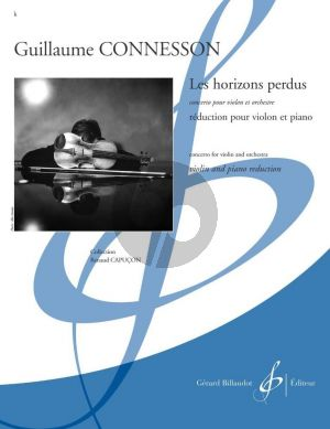 Connesson Les Horizons perdus Violin and Orchestra (piano reduction)