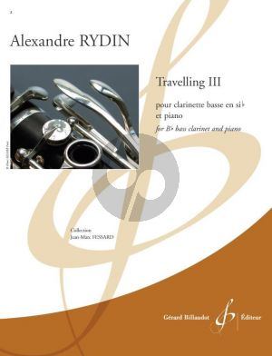 Rydin Travelling III Bass Clarinet and Piano