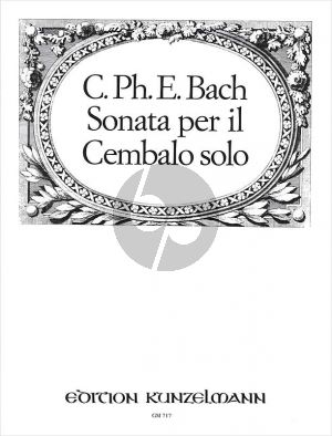 Bach Sonate c-moll Wq 60 Cembalo solo (Frank Nagel)