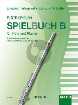 Weinzierl-Wachter Flöte spielen Spielbuch B