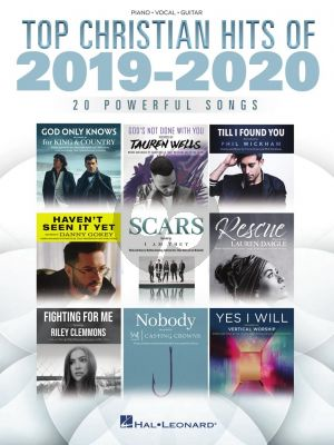 Top Christian Hits of 2019-2020 Piano-Vocal-Guitar