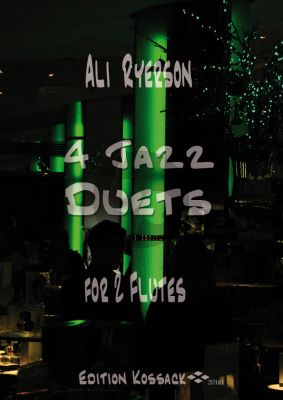 Ryerson 4 Jazz Duets for 2 Flutes (Score/Parts)