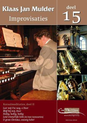 Mulder Improvisaties 15 Orgel (Koraalmeditaties Deel 2)