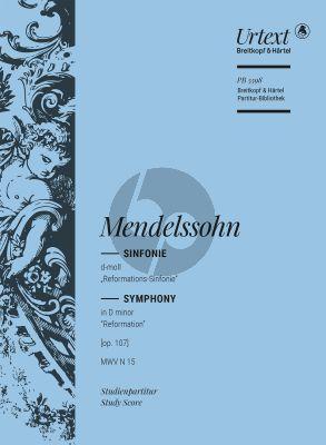 "Mendelssohn Symphony No.5 d-minor MWV N.15 ""Reformation"" Study Score (edited by Thomas Schmidt)"