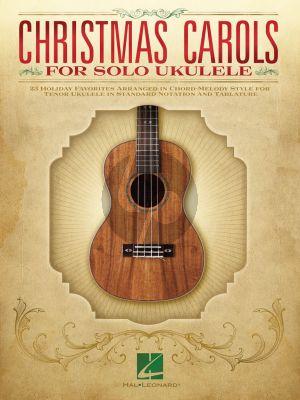 Christmas Carols for Solo Ukulele