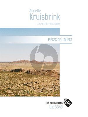 Kruisbrink Pièces de l'Ouest Guitare seule