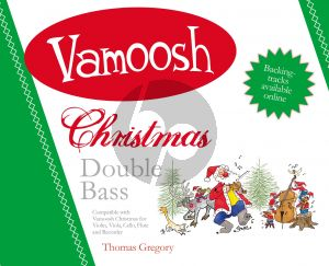 Vamoosh Christmas for Double Bass (2 Double Basses) (arr. Thomas Gregory)