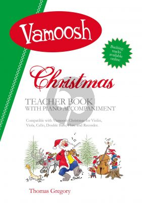 Vamoosh Christmas Teacher Book (Piano Accompaniment) (arr. Thomas Gregory)