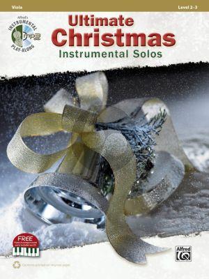 Ultimate Christmas Instrumental Solos for Viola Level 2-3 (Viola Book & CD) (transcr. by Bill Galliford)