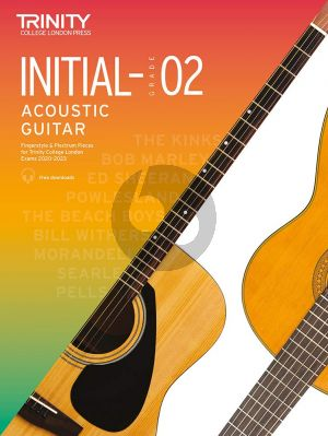 Album Trinity Acoustic Guitar Exam Pieces 2020-2023 (Initial-Grade 2)