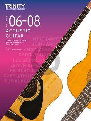 Trinity Acoustic Guitar Exam Pieces 2020-2023 Grades 6 - 8