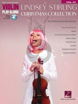 Lindsey Stirling – Christmas Collection for Violin (Violin Play-Along Volume 81) (Book with Audio online)