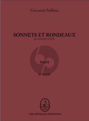Sollima Sonnets & Rondeaux for String Quartet (Parts)