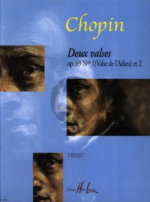 Chopin 2 Valses Op.69 No.1 - 2 h-moll/As-dur (Les Adieux) Piano (Urtext Dominique Geoffroy)