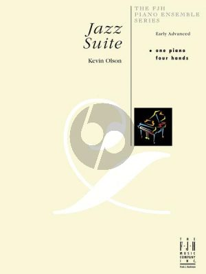 Olson Jazz Suite for Piano 4 Hands