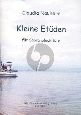 Nauheim Kleine Etüden Vol.1 Sopranblockflote