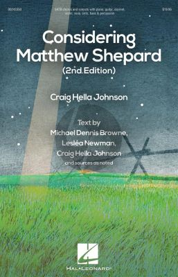 Johnson Considering Matthew Shepard SATB with Soloists and Instruments (Vocal Score)