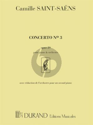 Saint-Saens Concerto No.3 Op. 29 Piano and Orchestra (piano reduction)