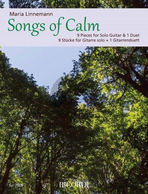 Linnemann Songs of Calm Guitar (9 Pieces for Solo Guitar & 1 Duet)