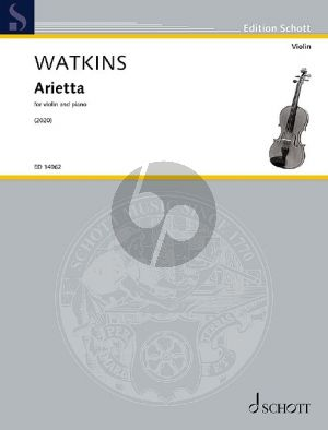 Watkins Arietta for Violin and Piano (2020)