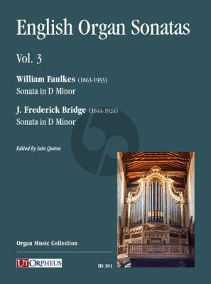 English Organ Sonatas Vol. 3 (edited by Iain Quinn)