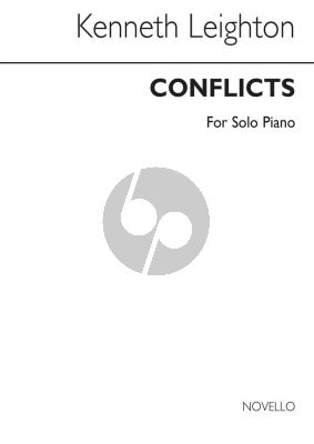 Leighton Conflicts Op. 51 for Piano (Fantasy on two Themes)