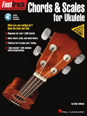Johnson FastTrack – Chords & Scales for Ukulele (Book with Audio online)