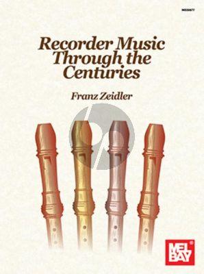 Album Recorder Music Through the Centuries (Edited by Franz Zeidler)