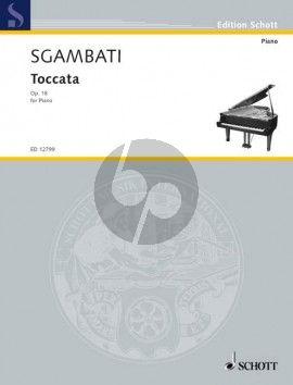 Sgambati Toccata Op. 18 No. 4 Piano solo