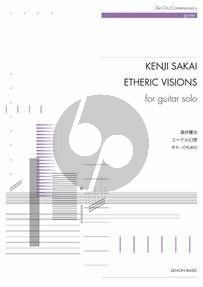 Sakai Etheric Visions for Guitar solo