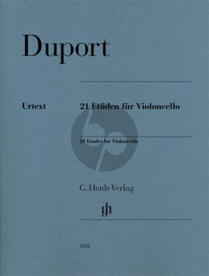 Duport 21 Etudes for Violoncello (Norbert Gertsch)
